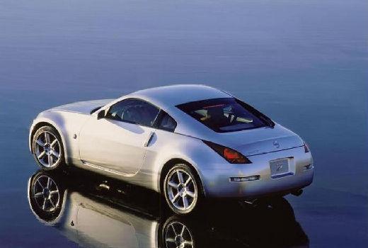 NISSAN 350 Z coupe silver grey tylny lewy