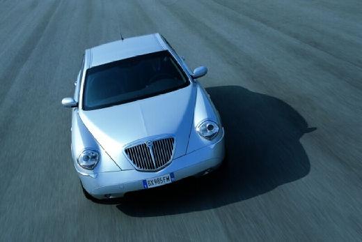 LANCIA Thesis I sedan silver grey przedni