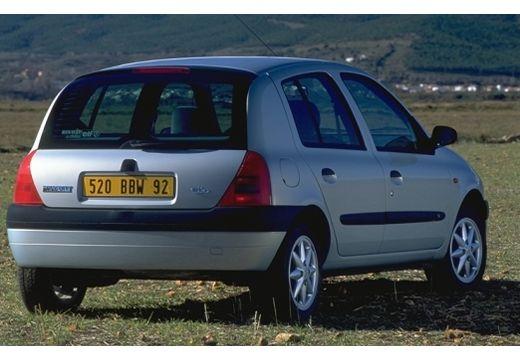 RENAULT Clio II I hatchback silver grey tylny prawy