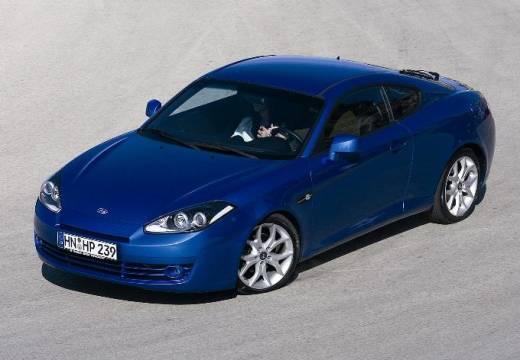 HYUNDAI Coupe IV coupe niebieski jasny przedni lewy