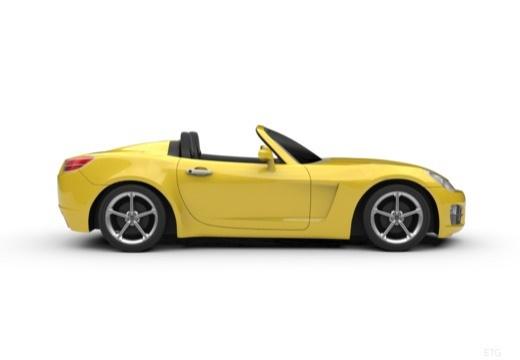 OPEL GT roadster boczny prawy