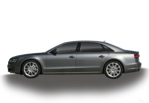 AUDI A8 D4 II sedan boczny lewy