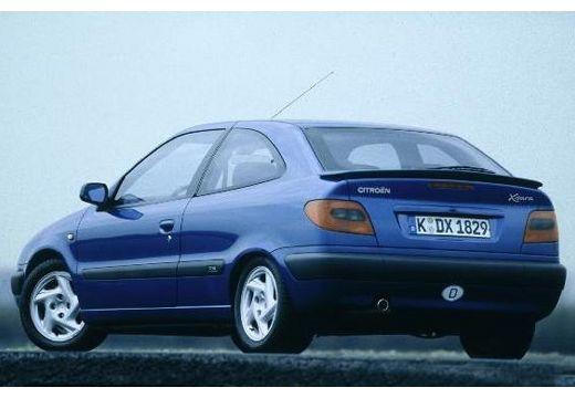CITROEN Xsara I hatchback niebieski jasny tylny lewy
