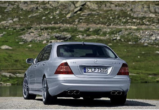 MERCEDES-BENZ Klasa S W 220 II sedan silver grey tylny lewy
