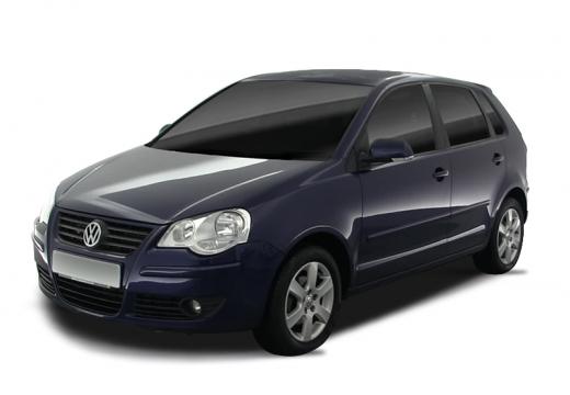 VOLKSWAGEN Polo IV II hatchback niebieski jasny