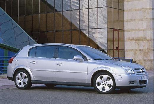 OPEL Signum hatchback silver grey przedni prawy