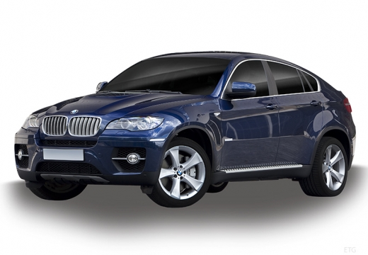 BMW X6 X 6 E71 hatchback niebieski jasny