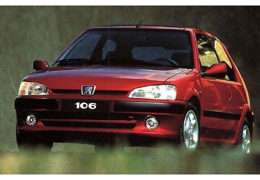 PEUGEOT 106 1.1 Roland Garros Hatchback II 1.2 60KM (benzyna)