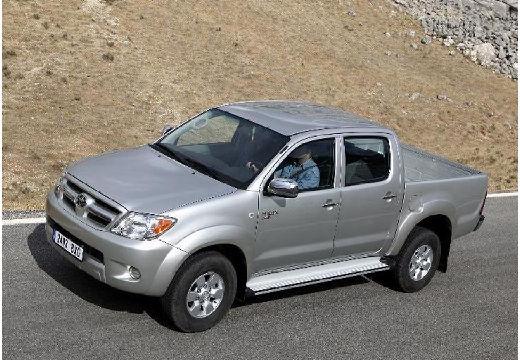Toyota HiLux pickup silver grey przedni lewy