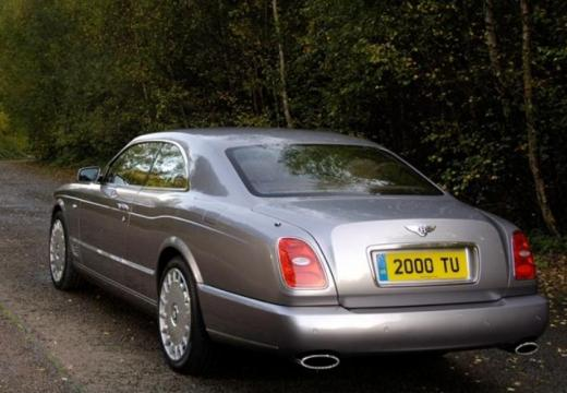 BENTLEY Brooklands coupe silver grey tylny lewy