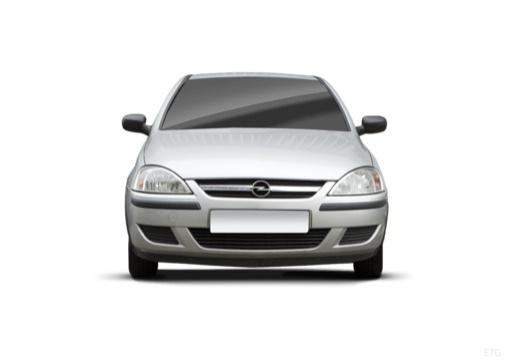 OPEL Corsa C II hatchback silver grey przedni