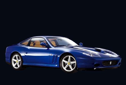 FERRARI 575 coupe niebieski jasny przedni prawy