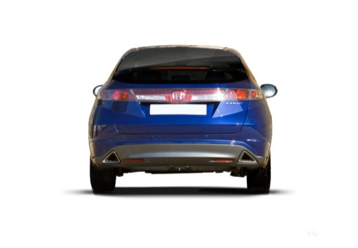 HONDA Civic VII hatchback tylny