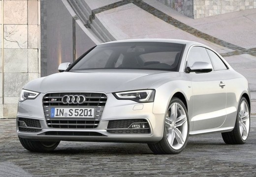 AUDI A5 II coupe silver grey