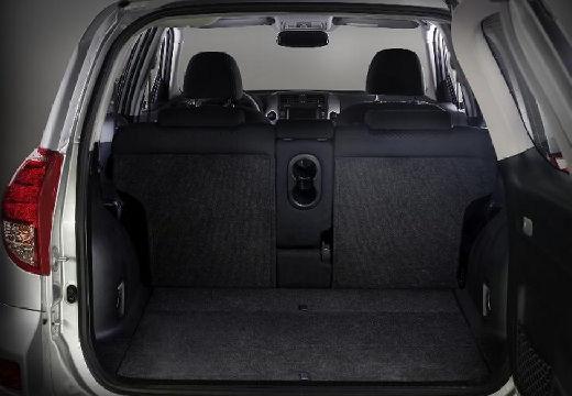 Toyota RAV4 IV kombi silver grey przestrzeń załadunkowa
