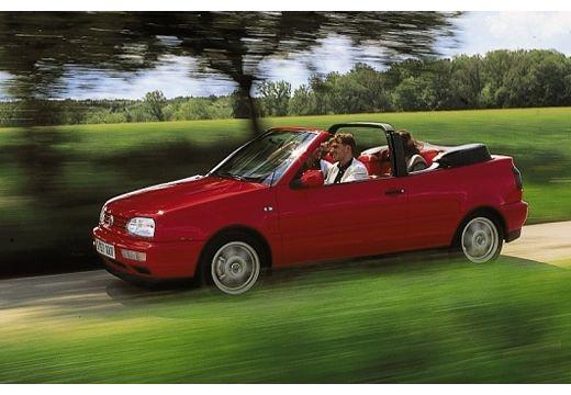 VOLKSWAGEN Golf Cabriolet III kabriolet czerwony jasny przedni lewy