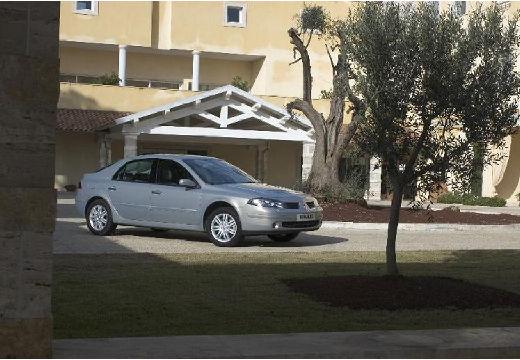 RENAULT Laguna II II hatchback silver grey przedni prawy