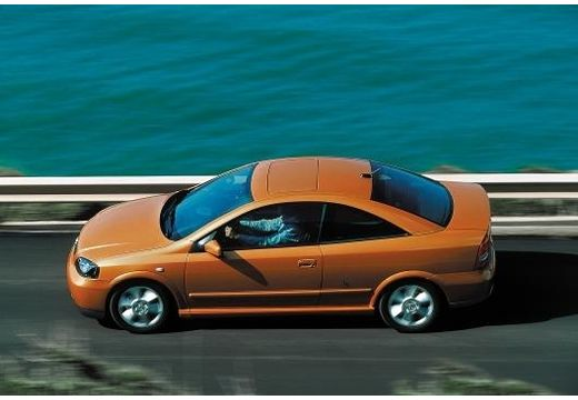 OPEL Astra coupe boczny lewy