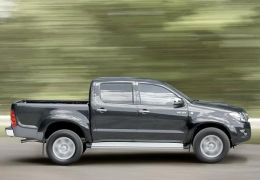 Toyota HiLux IV pickup szary ciemny boczny prawy