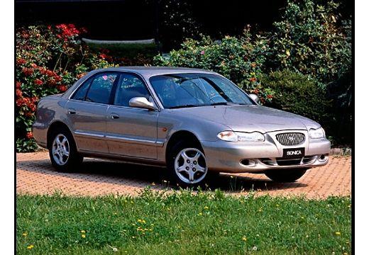 HYUNDAI Sonata III sedan silver grey przedni prawy