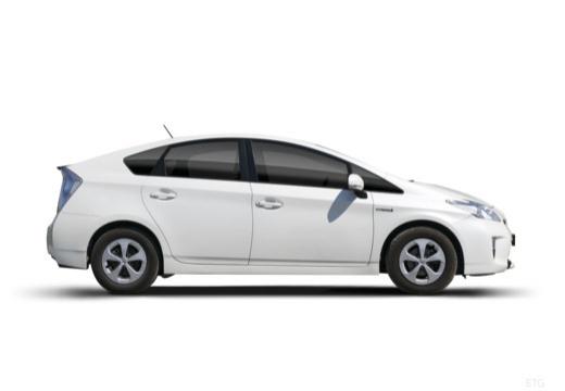 Toyota Prius III hatchback boczny prawy
