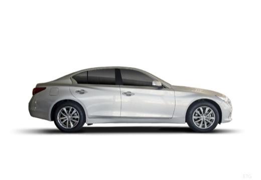 INFINITI Q50 I sedan biały boczny prawy