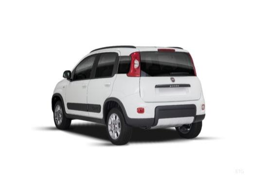 FIAT Panda III hatchback biały tylny lewy