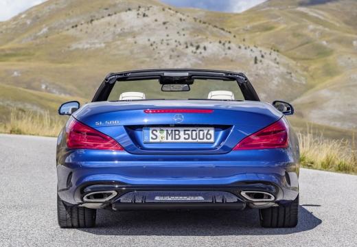 MERCEDES-BENZ Klasa SL roadster niebieski jasny tylny