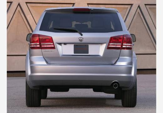 DODGE Journey I van silver grey tylny