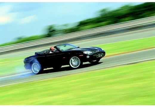 JAGUAR XK8 kabriolet czarny przedni prawy