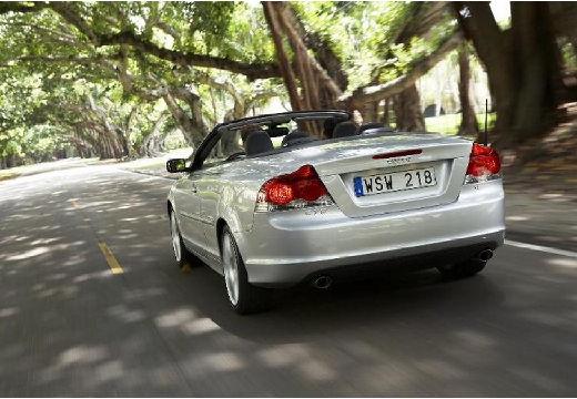 VOLVO C70 kabriolet silver grey tylny lewy