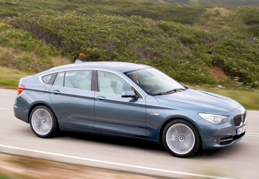 BMW Seria 5 Gran Turismo F07 I hatchback niebieski jasny przedni prawy