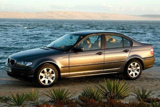 BMW Seria 3 E46/4 sedan szary ciemny przedni lewy