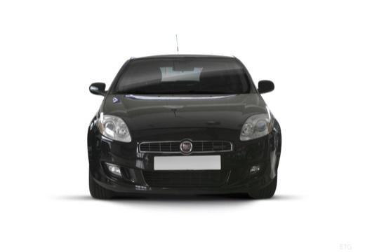 FIAT Bravo II hatchback czarny przedni