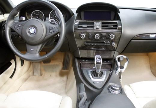 BMW Seria 6 Cabriolet E64 II kabriolet tablica rozdzielcza