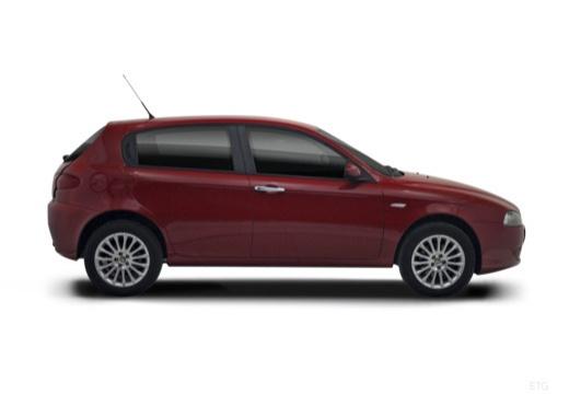 ALFA ROMEO 147 II hatchback boczny prawy