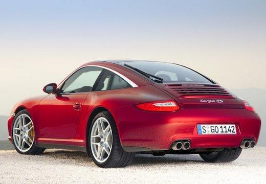 PORSCHE 911 997 coupe czerwony jasny tylny lewy