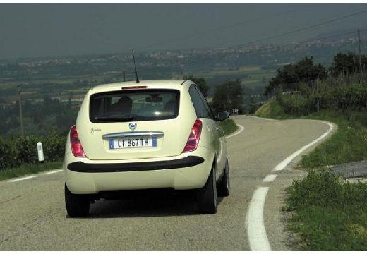 LANCIA Ypsilon I hatchback beige tylny prawy