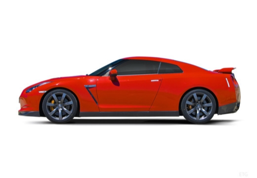 NISSAN GT-R coupe boczny lewy