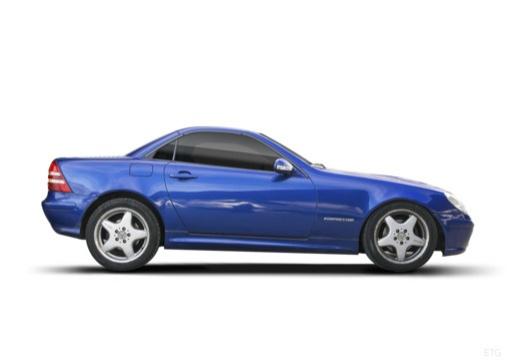 MERCEDES-BENZ Klasa SLK SLK R 170 kabriolet boczny prawy