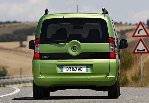 FIAT Fiorino Qubo kombi zielony tylny