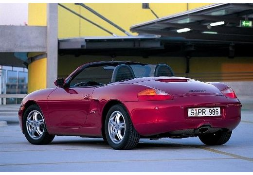 PORSCHE Boxster 986 roadster fioletowy tylny lewy