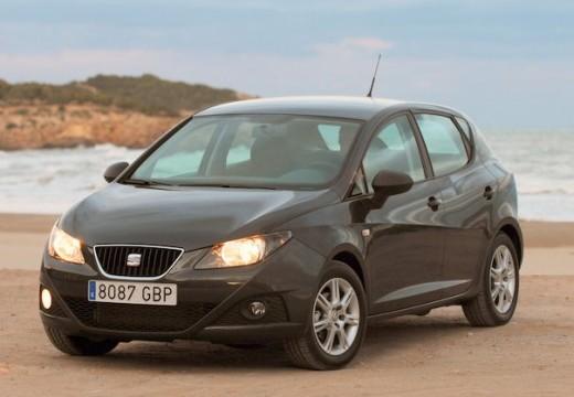 SEAT Ibiza V hatchback czarny przedni lewy