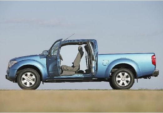 NISSAN Navara I pickup niebieski jasny boczny lewy