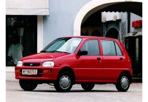 DAIHATSU Cuore III hatchback czerwony jasny przedni lewy