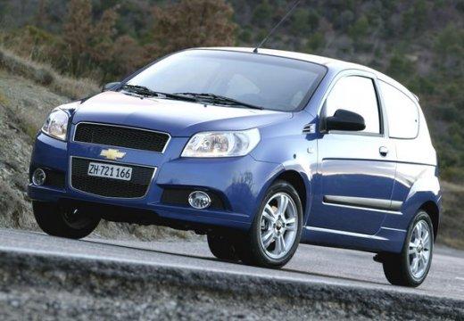 CHEVROLET Aveo II hatchback niebieski jasny przedni lewy