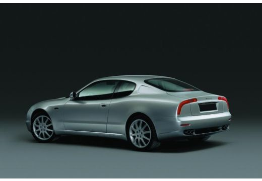 MASERATI 3200 I coupe silver grey tylny lewy