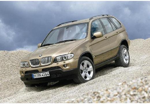 BMW X5 kombi złoty przedni lewy