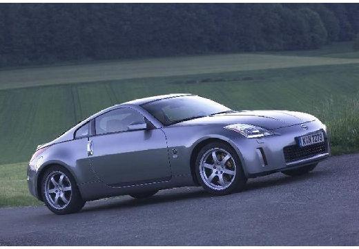 NISSAN 350 Z coupe silver grey przedni prawy