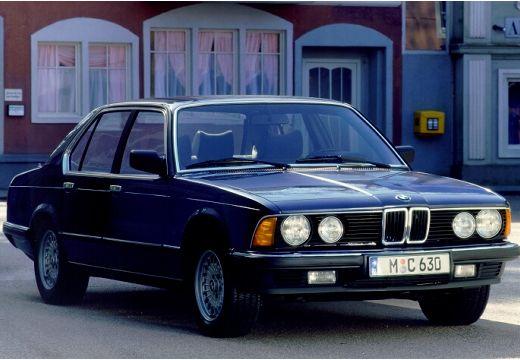 BMW Seria 7 E23 sedan niebieski jasny przedni prawy